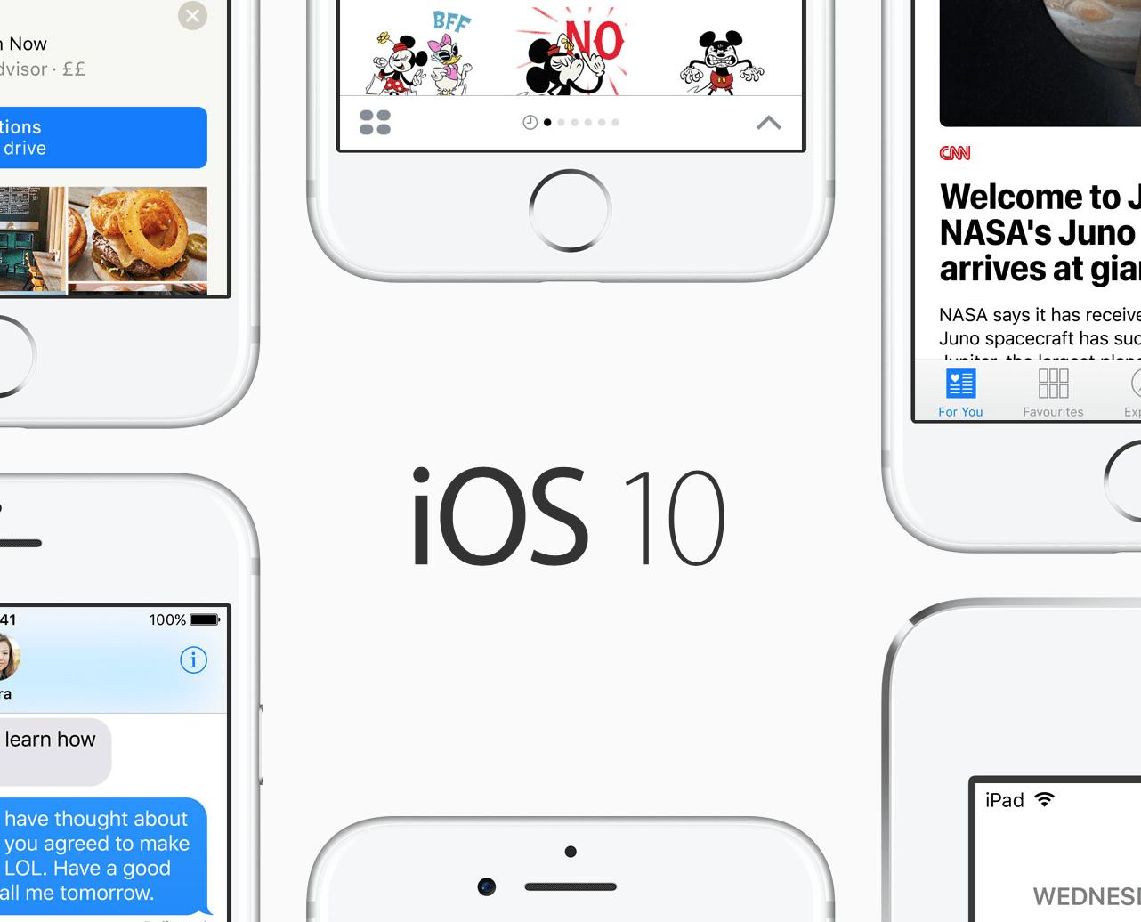 iOS 10 i odblokowanie ekranu