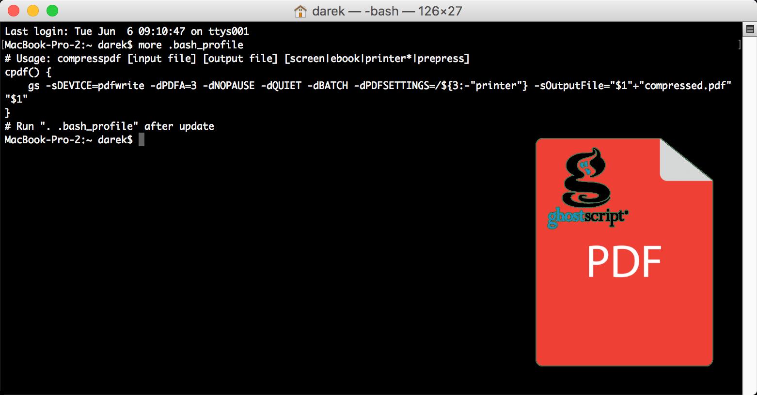 Darmowa kompresja plików PDF na MacOS