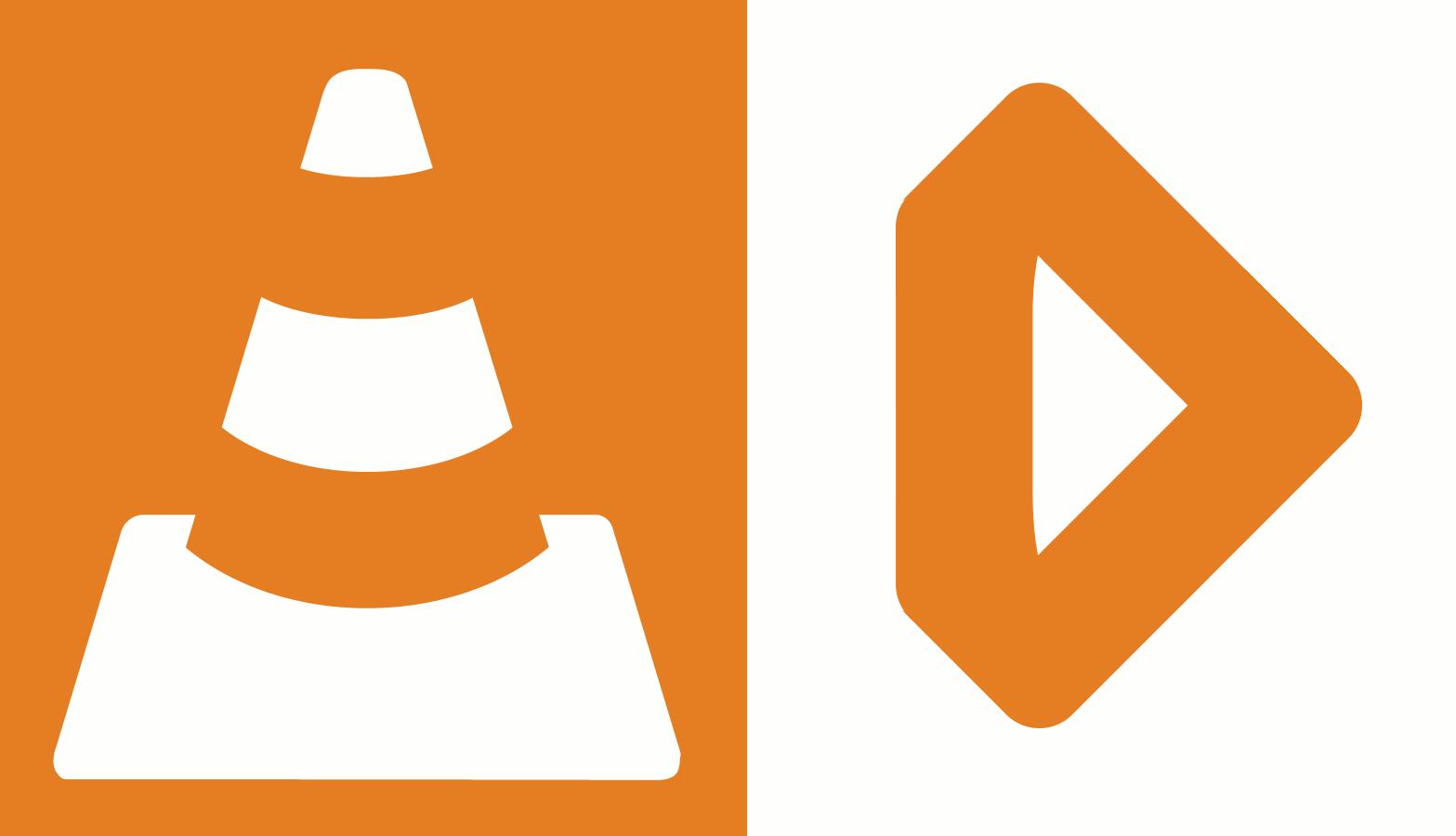 VLC - kombajn stacjonarny, Infuse - mobilny
