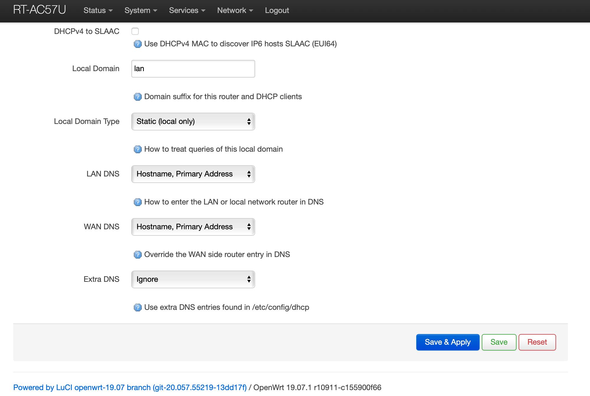 OpenWrt Recursive DNS Unbound DHCP Part 2