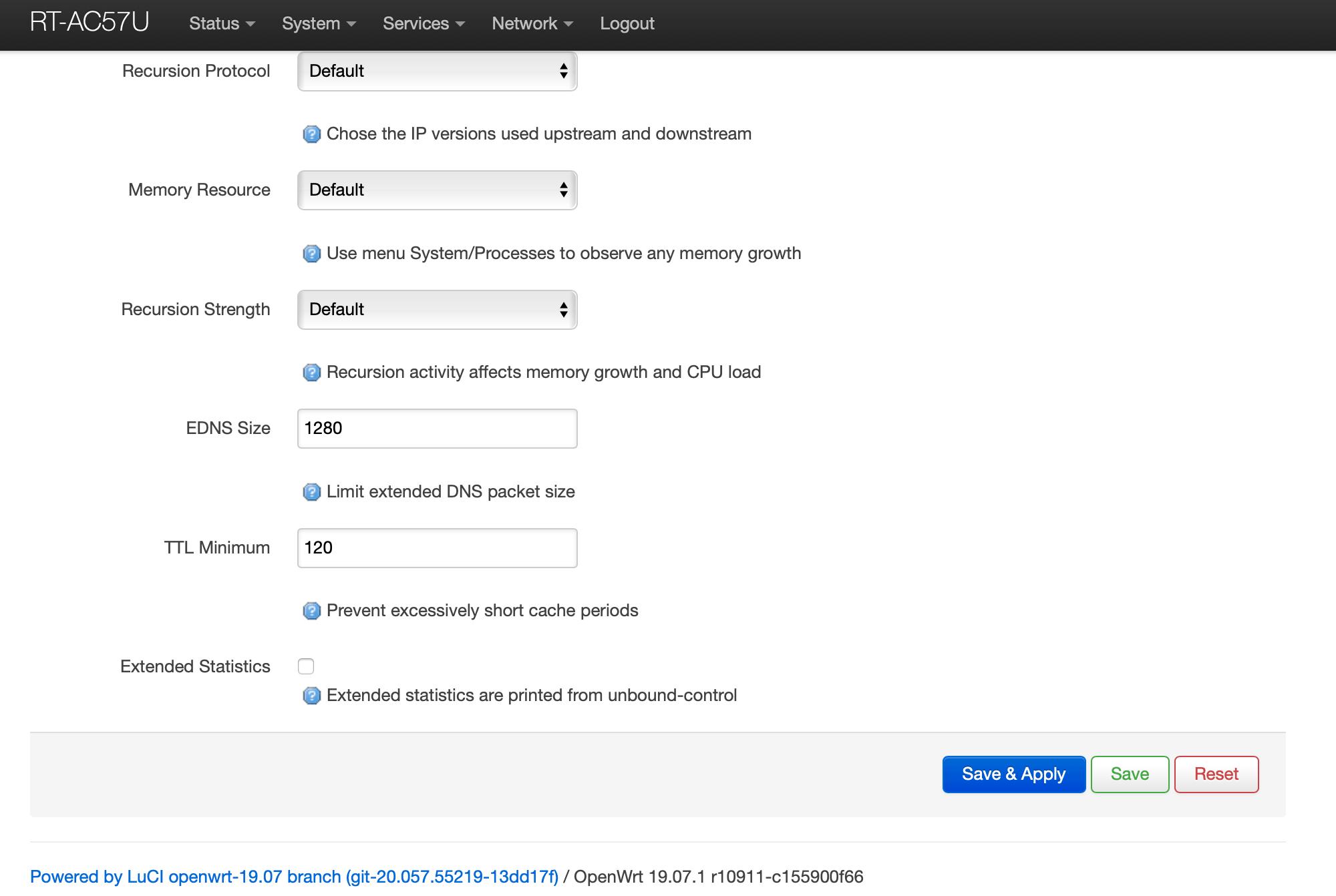 OpenWrt Recursive DNS Unbound Resources Part 2