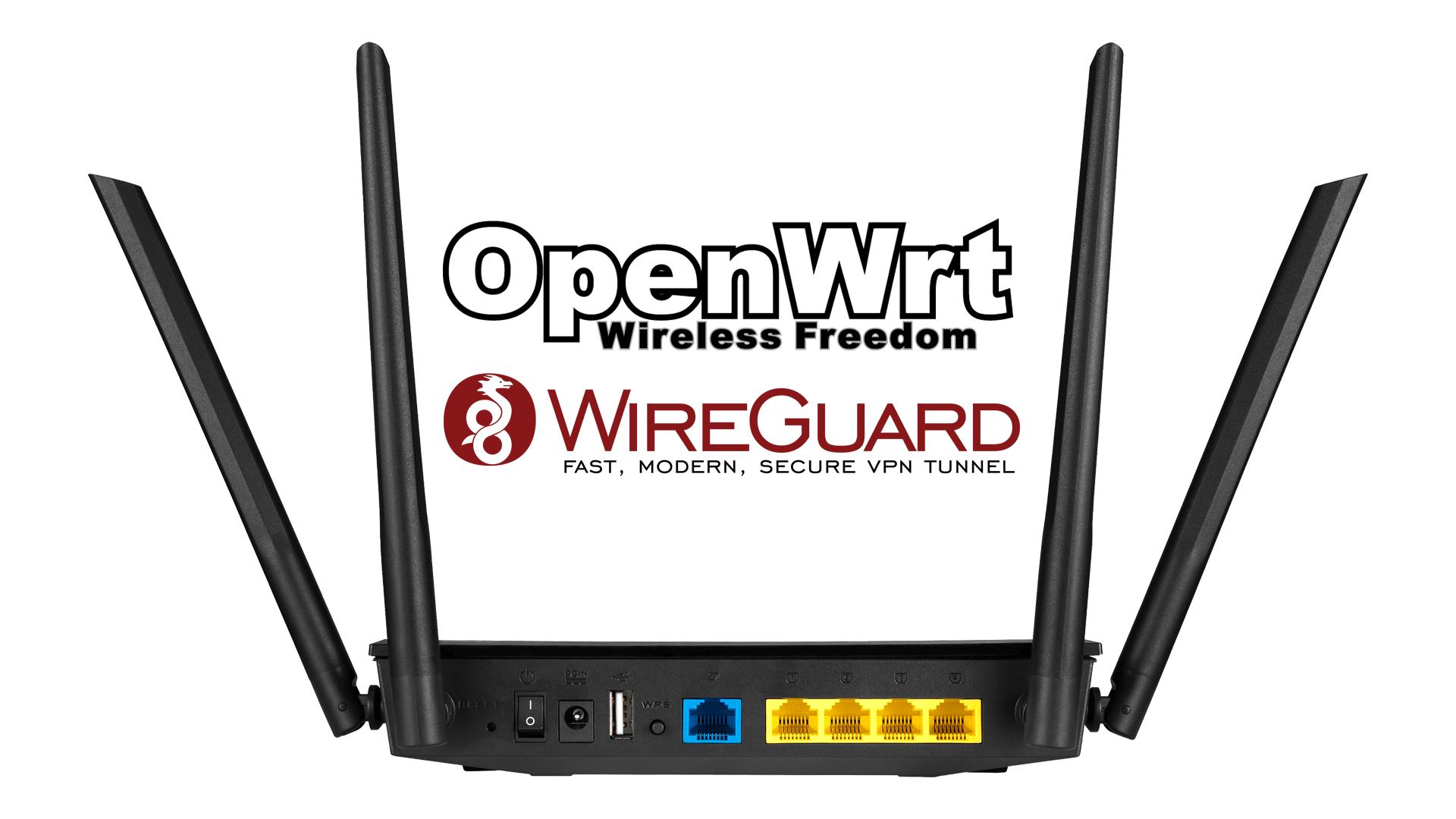 Instalacja serwera VPN na routerze z OpenWRT (WireGuard)
