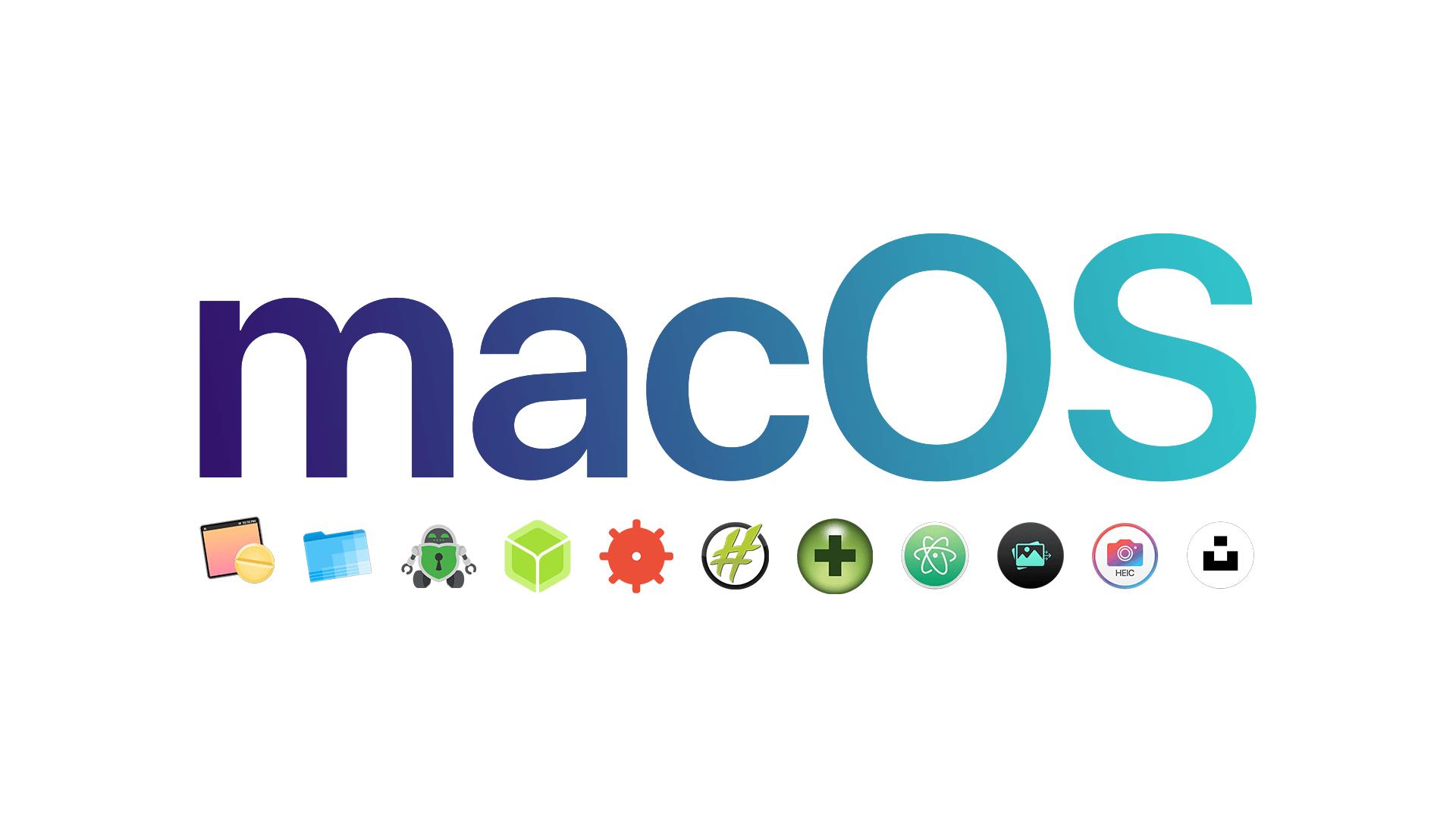 Moje aplikacje na Mac'a - Top 10 (2020)