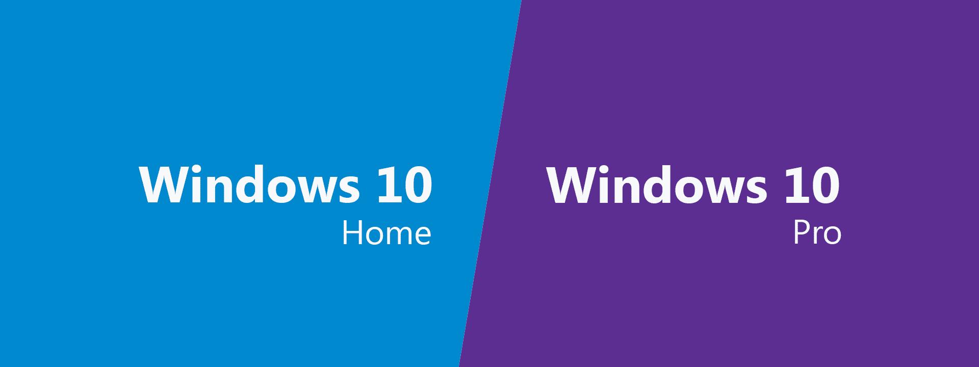Aktualizacja Windows 10 Home do wersji Profesjonalnej