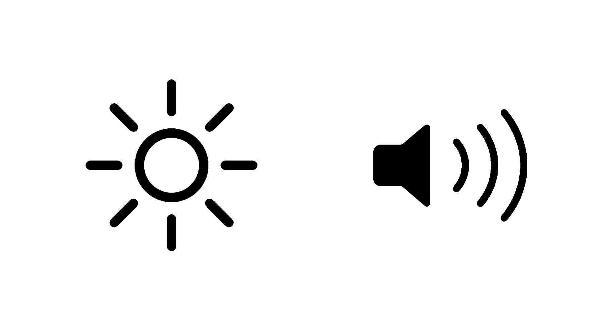 Ograniczenie jasności i głośności na iPad, iPhone