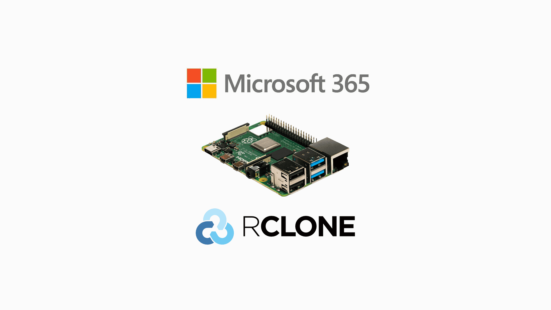 Microsoft 365 (SharePoint & OneDrive) backup for free with Raspberry Pi and Rclone